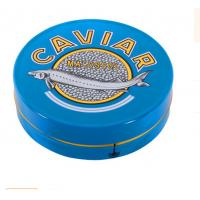Buy cheap 30 gm caviar tin box,50 gm  caviar tin box,100 gm caviar tin box,125gm caviar tin box,150gm  caviar tin box from wholesalers
