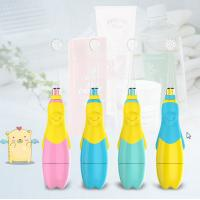 China Flashing Led Baby Oral Children'S Rechargeable Electric Toothbrush SG-513 wholesale