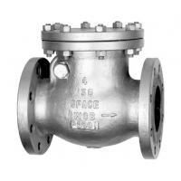 China Cast iron Vertical flanged check valve on sale