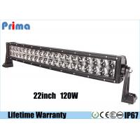 China 22 Inch 120W LED Car Light Bar Unique Reflector Cup 4D Curved  Fisheye Style wholesale