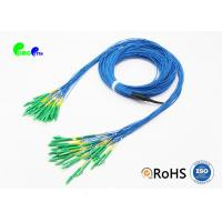China Single Mode Fiber Optic Cable Patch Cord Customized LC APC - LC APC 24 Fibres Staggered wholesale