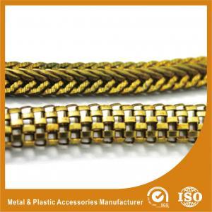 China High Grade Lantern Gold Handbag Chain For Bag Handles Decorative Metal Chain wholesale