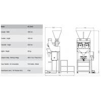 China SA-L SERIES Semi Automatic Two Head Linear Weigher wholesale