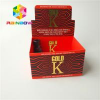 China Matte Surface Finish Herbal Incense Packaging Boxes Cigar Tobacco Coated Paper Box wholesale