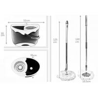 China KXY-ZX Deluxe 360 spin mop,Best Selling 360 Spin Mop With Wheels wholesale