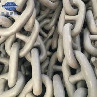China 76MM Marine Grade U2 U3 Stud Link Anchor Chain With LR BV NK DNV Cert In Stock wholesale