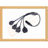 China Durability PVC 16 Pin OBD Extension Cable Black CK-MF16Y04L wholesale