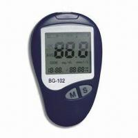 China Large LCD Blood Glucose Monitor, Easy Reading, Quicker Test Result, Less Pain and Accuracy wholesale