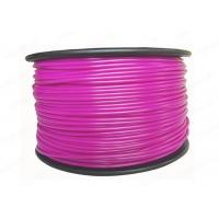 China Purple soft plastic 3MM ABS Filament for 3D Printing Materials , high strength wholesale
