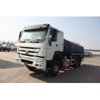 China 6x4 Sewage Tanker Truck / 13 CBM Waste Disposal Truck With Pressure Discharge Function wholesale