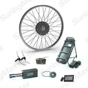 Buy cheap 48v 350w Brushless Gear Motor , Electric Motor Kit For Mountain Bike from wholesalers