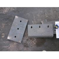 China High Cr Wear-Resistant Castings Chute Lining Of White Iron Hardness More than HRC58 wholesale