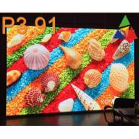 China Huge Advertising 2mm  P3.91 Smd Led Screen Aluminum 500*500mm Cabinet wholesale