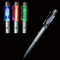 China LED Slim Pen with Different LED Colors Available wholesale