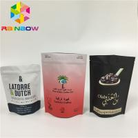China Gravure Printing Stand Up Zipper Pouch Bags Tear Notch Line Zip Lock Laminated Foil wholesale