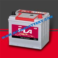 China GREY 12V 60AH Car Battery , Dry Charged Maintenance Free Battey SMF55D23R/L wholesale