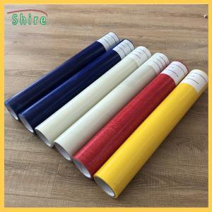 China Self Adhesive Floor Protection Film , Customizing Plastic Floor Protector Roll wholesale