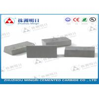 China Welding Cutting Tips Carbide Brazed Tips For Steel Tool Long Working Time wholesale