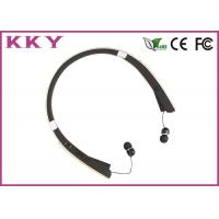 China Foldable Retractable Bluetooth Headset With CVC Noise Reduction / Vibratory Function wholesale
