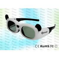 China 144Hz Children 0.7Ma Style DLP Link Active Shutter 3D Glasses With CR2032 Lithium Battery wholesale