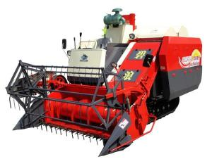 China 2M Width 90hp Agriculture Combine Harvester , 2400rpm Wheat Harvestor wholesale
