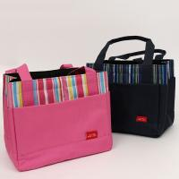 China Supermarket Ice Cream Cooler Foldable Reusable Grocery Bags Family Type Non Woven Picnic Lunch Bag wholesale