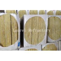 Buy cheap Rockwool Mattress Refractory Rockwool Sound Insulation with Wire Mesh 20 MM Thick from wholesalers