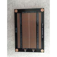 China Overload Protection Prototyping PCB Board 94 * 64mm Black Fr-4 PCB Breadboard wholesale