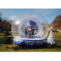 China 3 Meter Clear Inflatable Advertising Balloons , Inflatable Christmas Igloo Decoration wholesale