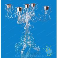 China CH (26) clear Acrylic tealight candle holders wholesale
