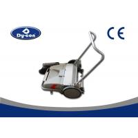 China Manual Push Walk Behind Floor Sweeper , Floor Sweeping Cleaning Machine wholesale