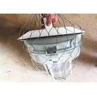 China Stainless Steel Dropped Objects Prevention 7x7 Safety Net Fall Protection wholesale