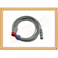 China IBP Adapter Cable B .Braun Invasive Blood Pressure Cable 12 Pin , UL And Rohs Standard wholesale