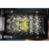 China 6 Inch 54W Philips Led Work Lights 12v Trip Row 6500k Multiple Colors wholesale