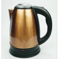 China Spray paint golden stainless steel electric water kettle 1.8L 220V wholesale
