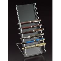 China Classic Ladder Shape Acrylic Pen Holder With Reasonable Price wholesale