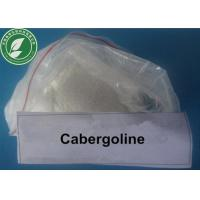 Buy cheap Cabergoline Androgenic Anabolic Steroids Powder 81409-90-7 for Treatment Parkinson from wholesalers