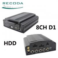China Hard Disk Mobile HD DVR 3G / 4G GPS Tracking Support Live View Video For Bus wholesale