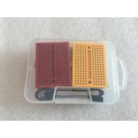 China OEM 6 PCS Colorful Solderless Breadboard Kit With 20 cm M-F Jumper Wire wholesale