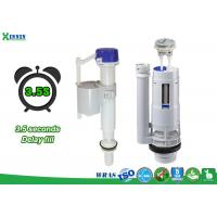 China Toilet Tank Mechanisms And Accessories With Delay Fill / Time Lapse Option wholesale