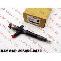 Buy cheap DENSO Common rail fuel injector 295050-0470, 295050-0210 for TOYOTA 1KD-FTV 23670-39255, 23670-30410, 23670-39355 from wholesalers