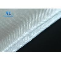 China White Fiberglass Fabric Cloth Heat Insulation For Fireproofing And Silicone Fabric on sale