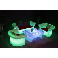 China LUMINOUS LED Lounge Sofa  Living Room Led Sofas KTV SOFA wholesale