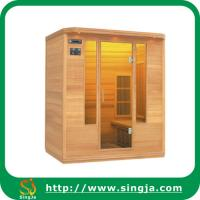China 3 person wooden infrared dry sauna wholesale
