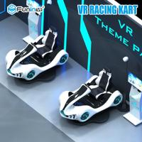 Buy cheap 2100 * 2000 * 2100mm VR Racing Simulator Cart With HTC VIVE Helmet 3 Games from wholesalers