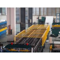 China 5.5KW Automatically Roof Panel Roll Forming Machine 40GP Container wholesale
