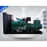 China 1000Kw Open Type 3 Phase water cool Genset / Cummins Diesel Generator Set H Insulation Class wholesale