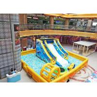 China Multifunctional Inflatable Play Park With 20000pcs Ocean Ball Customized Color on sale