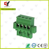 China Connector Terminal Block Wire Range 28-12 AWG , Plug Terminal Block wholesale