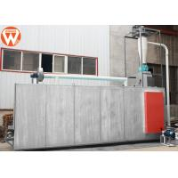 China Catfish Fish Feed Dryer Equipment Steam Heated 0.5 T/H High Evaporation Intensity wholesale